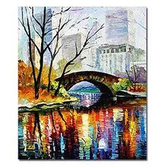 Imprimés Art toile paysage avec cadre tendu