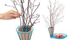 golf jakkapun charinrattana presents wire + wooden objects at IFFS 2014-'blossom fruit bowl'