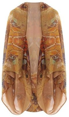 Silk Moth Cape Wouldn't work for me in these colors, but I LOVE it!!!