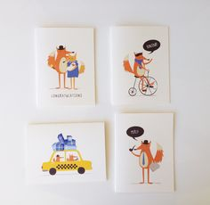 Greeting Cards from Fable Paper Co.
