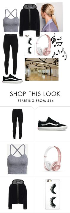 """""""Bez naslova #42"""" by mea213 ❤ liked on Polyvore featuring Peace of Cloth, Vans, Beats by Dr. Dre, T By Alexander Wang, Rianna Phillips and Music Notes"""