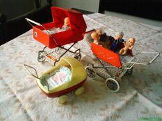 Retro vzpomínky - Moje :-) pískací hračky gumové, řetízek na kočárek, tučňák s kývací hlavou, panenky a 4 kousky chňapáčků - Album uživatelky kulishek - Foto 278 | Modrykonik.cz