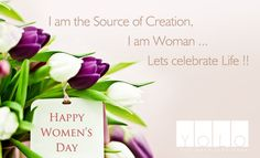 Discrimination and Progression  cannot go hand in hand-----treat Fairly the Fairer Sex !!  YOLO wishes a Very Happy Woman's Day !!