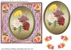 Floral Plaque Card Front 9