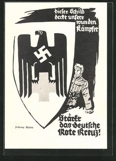 old postcard: Künstler-AK Berlin, KdF-Postwertzeichen-Ausstellung für das Deutsche Rote Kreuz 1940, Ganzsache