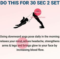 Gym Workout For Beginners, Fitness Workout For Women, Workout Videos, Yoga Fitness, Yoga Facts, Health And Fitness Articles, Flexibility Workout, Yoga Tips, Yoga Routine