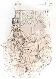 Ballgowns & Crowns                                                                    If you are in London from May 15th - June 15th be sure you make a stop at Harrods. Maria Grazia Chiuri and Pierpaolo Piccioli have designed an exclusive ballgown and crown to celebrate the Queen's Diamond Jubilee.