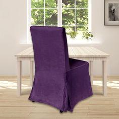 IKEA Henriksdal Dining Chair Cover, Purple Velvet   affordable, designer, custom, handmade, trendy, fashionable, locally made, high quality Ikea Dining Chair, Dining Chair Covers, Purple Velvet, Slipcovers, Cushions, Luxury, Handmade, Design, Style