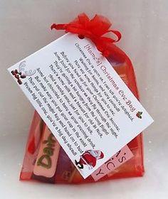 personalised children 039 s christmas eve kit bag reindeer food santa key
