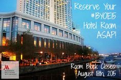 Book ur @beblogalicious hotel room by 8/12 to win a massage @FourSeasons #Baltimore! #BYOE15 https://aws.passkey.com/g/50574781