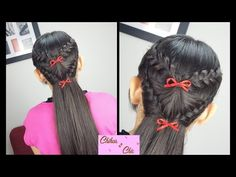Abanico Trenzado! - Braided Fan! | Chikas Chic - YouTube