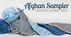 It's Square 4 (April) of the 2015 Afghan Sampler! Crochet along to make a contemporary afghan sampler over the course of one year -- have a finished blanket in time for Christmas giving.