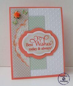 IBS Vintage Floral Paper Pad, Big Wishes II Stamp Set, and Fancy Label Dies 2