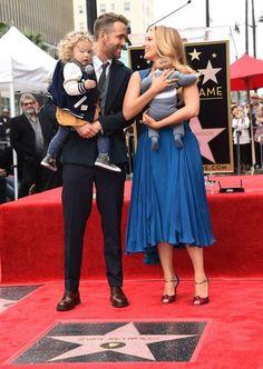 Blake Lively Ryan Reynolds Children Hollywood Walk Of Fame | British Vogue
