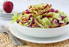 Waldorf Salad with Creamy Champagne Dressing (so delicious!)