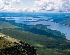 Looking over Loch Lomond from Stirlingshire.  From Visit Scotland