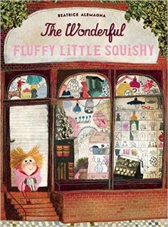 """On the blog today - Meet Eddie, """"an irrepressible and appealing heroine whose quest is as quirky as it is delightful."""" Read Cathy Ballou Mealey's glowing review of Beatrice Alemagna's 2016 Mildred L. Batchelder Award winner, The Wonderful Fluffy Little Squishy translated by Claudia Zoe Bedrick. From Enchanted Lion Books. #kidlit #picturebook #kidsbookreview #childrensbooks #awardwinner"""