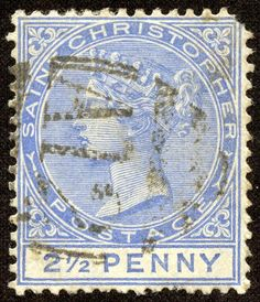 """1882 Scott 9 rose """"Queen Victoria"""" Quick History One of the five Presidencies of the British Leeward Islands Colony, St. Rose Queen, Stamp Collecting, Central America, Postage Stamps, Caribbean, Vintage World Maps, Commonwealth, History, Islands"""