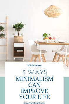 Living With Less: How Decluttering Can Improve Your Life. How minimalism can improve your life. Live For Yourself, Improve Yourself, Organization Hacks, Household Organization, Organizing Life, House Cleaning Tips, Cleaning Hacks, Household Chores, Minimalist Lifestyle
