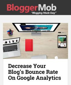 Decrease Your Blog's Bounce Rate On Google Analytics  http://ift.tt/1UNddrJ  When I first started blogging all I did was just write articles and share them constantly on all the social media channels that I knewexisted. It got me a lot of traffic but there was oneproblem. I had a high bounce rate and I didnt even know what itmeant at the time.  #blog #blogging #blogger #website #google #analytics #bloggermob #bloggers #bloggingtips #blogilates #instamood #instalike #instadaily #instacool…
