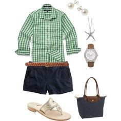 OOTD 11/17/11, created by sailboatsandseersucker on Polyvore