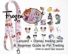 Disney World 25 Pin Trading Lot Lanyard Starter Black Set Peter Pan Tinkerbell