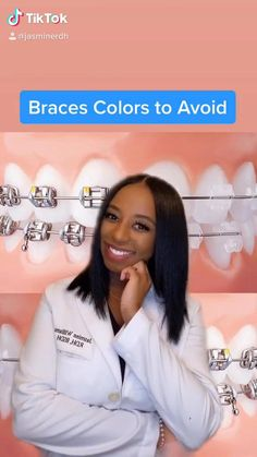 Dental Braces, Teeth Braces, Braces And Glasses, Pole Fitness Moves, Cute Braces Colors, Braces Tips, Getting Braces, Grills Teeth, Brace Face