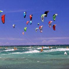 kitesurfing/Not your Daddy's surfing! www.worldkitemuseum.com www.kitefestival.com
