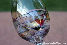 Distinguished Imports hand blown glassware from Romania.  I luv mine, the only ones I use now