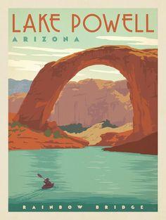 Rainbow Bridge, Lake Powell, Arizona