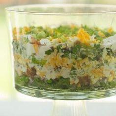 Seven Layer Salad via @browneyedbaker