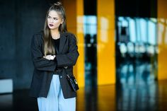 Reykjavik fashion festival fall 2015 street styles. 獨樹一幟的時尚風情:冰島時裝周街拍特集 | Popbee - 線上時尚生活雜誌