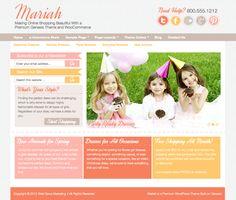Shameless Plug - Mariah: An eCommerce WordPress Theme