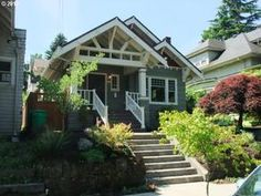LOVE these restored vintage homes!