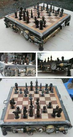 Steam chess