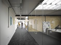 Liverpool warehouse converted into creative offices by Snook Architects