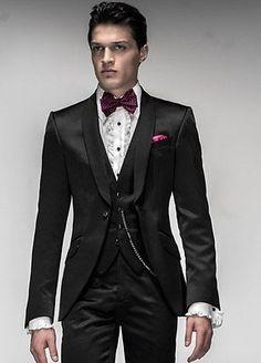 Men Fashion Designer Grooms Wedding Tuxedo Formal Dinner Suit Coat Jacket Blazer
