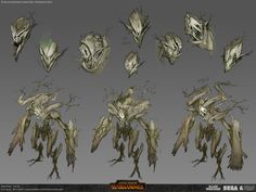 ArtStation - Tree Kin - Total War: Warhammer Wood Elf DLC, Rich Carey