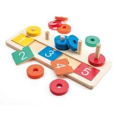 Jeux et jouets en bois pour enfant - - Oxybul éveil et jeux Puzzles, Coasters, Triangle, Games, Toys, Montessori, Fun For Kids, Wooden Children's Toys, Wood Games