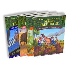 Magic Tree House Series Collection 4 Books Box Set (Books 17-20)