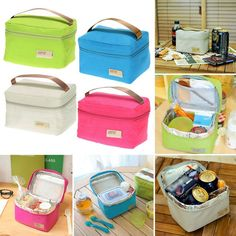 New Portable Insulated Thermal Cooler Bento Kids Lunch Box Tote Picnic