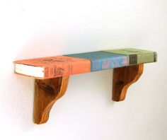 Not sure where I would put one, but love the idea of it. DIY Shelf From Faux Vintage Books
