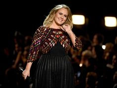 Recording artist Adele performs onstage during The 59th GRAMMY Awards at STAPLES Center on February 12, 2017 in Los Angeles, California. (Photo by Kevin Winter/Getty Images for NARAS)  via @AOL_Lifestyle Read more: https://www.aol.com/article/entertainment/2017/02/13/adele-reveals-shes-married-during-grammys/21712914/?a_dgi=aolshare_pinterest#fullscreen