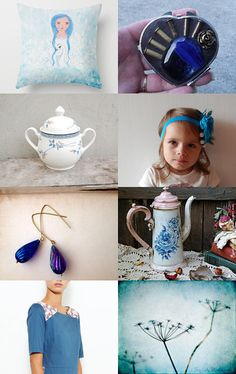 Nice Blue Things by carole on Etsy--Pinned with TreasuryPin.com