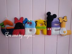 Felt Minnions Name Banner 7 letters * Baby's Room * Wall Decoration * minnie * pluto