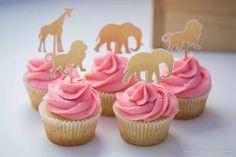 Glam Safari Animal Cupcakes from a Boho African Safari Birthday Party on Kara's Party Ideas Safari Cupcakes, Safari Birthday Cakes, Animal Cupcakes, 2nd Birthday Party For Girl, First Birthday Cupcakes, Girl Birthday Themes, Birthday Ideas, Geek Birthday, Paris Birthday