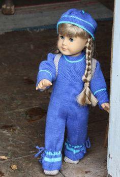0033 American Girl doll knitting pattern 0033 KIRSTEN