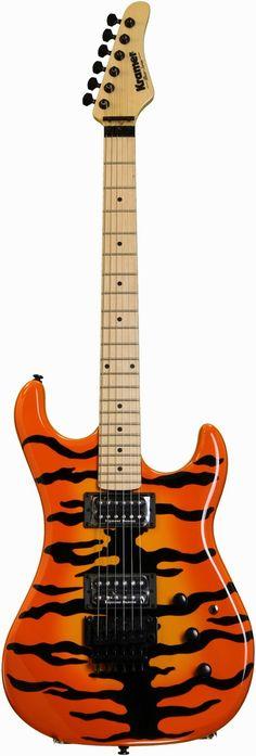 Live Tone Guitar-LTG: Kramer Guitars- Pacer Vintage - Tiger
