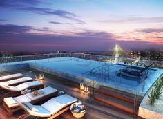 Imagina ver o por do sol dessa #SkyPool? Um empreendimento ótimo para morar ou investir. gafisa.com.br/follow