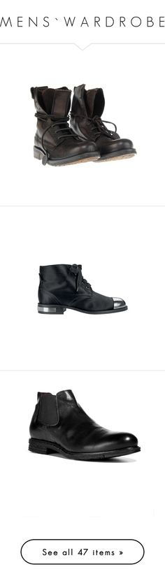 """M E N S ` W A R D R O B E"" by southerncomfort ❤ liked on Polyvore featuring mens, men's shoes, men's boots, shoes, men, boots, ankle booties, chanel shoes, chanel and chanel boots"